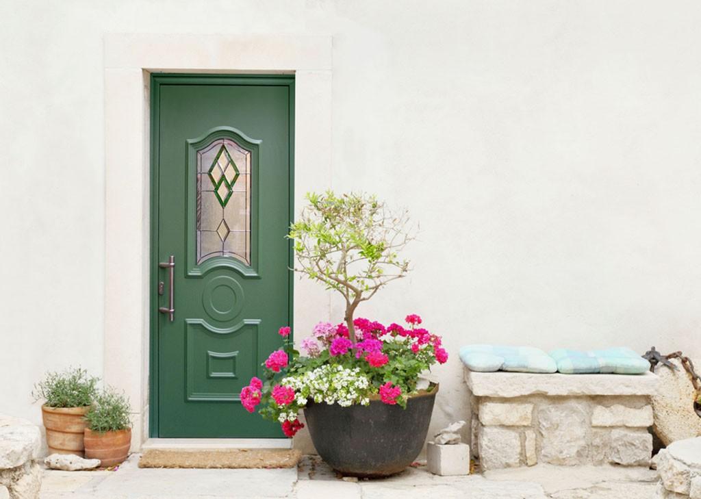 Porte d'entrée à La Garde
