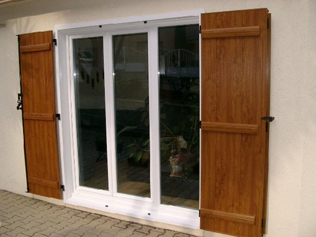 Porte fenêtre PVC la Crau