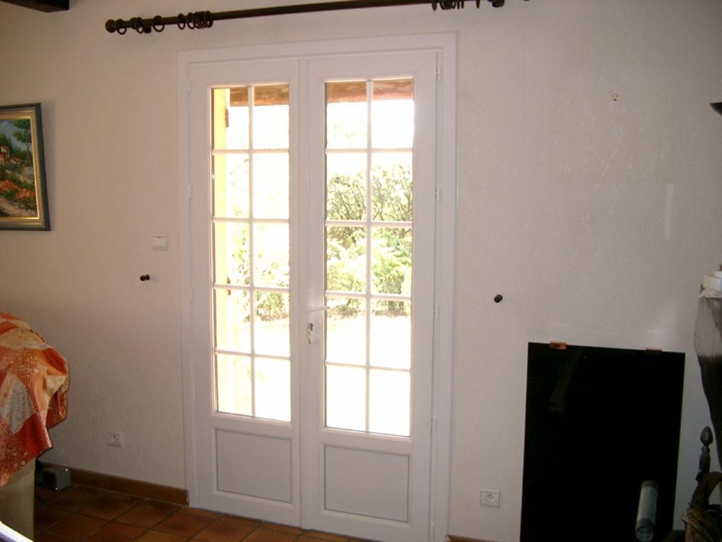 Porte-fenêtre PVC Le Pradet